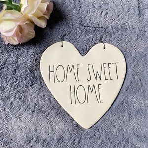 New RAE DUNN Home Sweet Home Wall Plaque